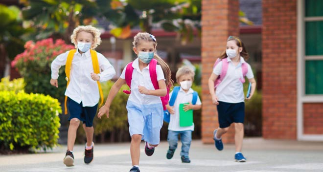 Se recomienda a los niños alérgicos al polen utilizar mascarillas homologadas FFP2